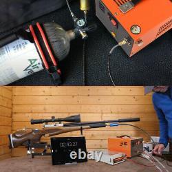 Portable PCP Air Compressor electric pump rifle oil free Hight Pressure 4500PSI