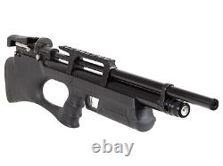 Puncher Breaker Silent Synthetic Stock Sidelever PCP Air Rifle. 25 Cal