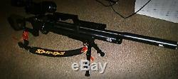 Refurbished Hatsan Flash Quiet Energy PCP Air Rifle HGFLASH custom w extras