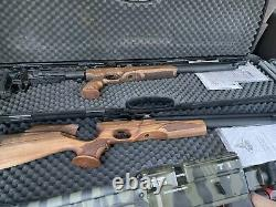 SALE! Air Rifle. 22 Pcp Tactical Walnut, Free Case and More MAKE AN OFFER