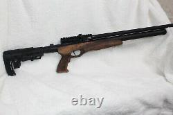 SALE! Air Rifle. 25 Pcp Tactical Walnut, Free Case and More DON T MISS