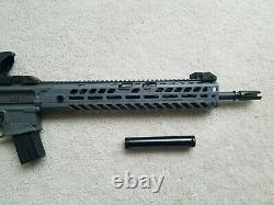 SIG SAUER MCX Virtus. 22 Cal PCP Air Rifle with many extras