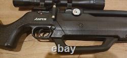 Seneca Aspen PCP. 25 slightly used with scope + two 10 magazine + 3 kinds bullet