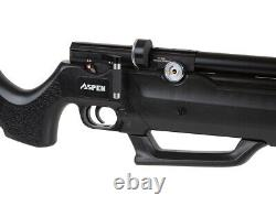 Seneca Aspen PCP Air Rifle With Built-in Pump 0.22 Caliber Synthetic Stock New