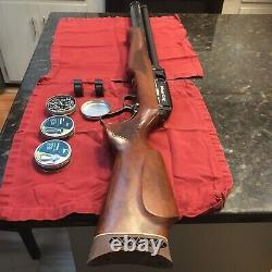 Seneca Eagle Claw Lever Action PCP. 25 Caliber 920 fps Carbine Air Rifle