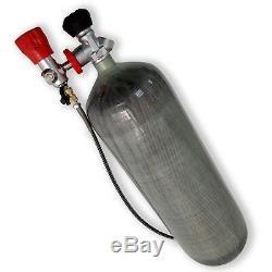 Shooting PCP Rifle 9L CE Carbon Fiber Air Tank 4500Psi SCBA Bottle Filling Kits