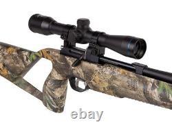 Stoeger XM1 S4 Suppressor PCP. 22 Cal Air Rifle Combo 4x32 Scope Realtree EDGE