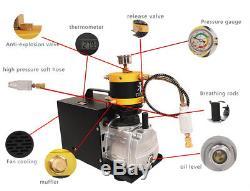 TUXING pcp air compressor for air rifle high pressure 4500psi 300bar 110V 220V