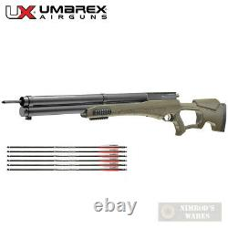 Umarex AIRSABER Air Archery PCP AIRGUN 450fps with SIX Arrows 2252659 2252661
