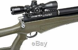 Umarex AirSaber PCP Arrow Air Rifle (Axeon 4x32 withrings) w 3 Carbon Fiber Arrows