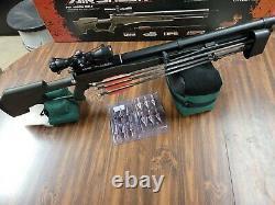 Umarex Airsaber PCP Arrow Rifle Airgun with Quiver and broadheads