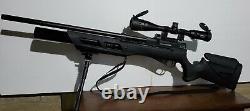 Umarex Gauntlet PCP. 25 Caliber Air Rifle 2252605 withHajimoto Power Tune Kit