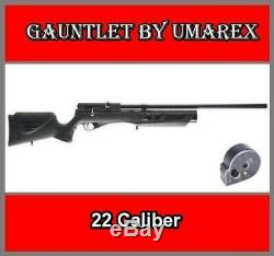 Umarex Gauntlet Pcp Pellet Air Rifle Synthetic Stock. 22 Caliber