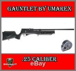 Umarex Refurbished. 25 Cal Gauntlet PCP Air Rifle, Fast Free Shipping