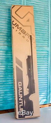 Umarex UX Gauntlet. 177 Caliber PCP Air Gun Rifle Black New in Box #2252603