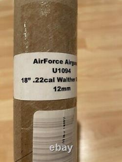 Used AirForce Condor SS PCP Rifle Spin-Loc Black 0.25 cal + 18 0.22 Cal Barrel