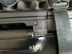 Vulcan v2 25 cal, 5 magazine 3000-3500 bar max capacity Pcp air rifle
