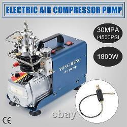 YONG110V 30MPa 4500PSI HENG Air Compressor Pump PCP Electric High Pressure Rifle